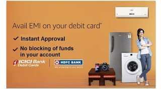 Amazon Debit Card EMI Offer | Pay EMI on Debit Card | Buy Products on EMI by Using Debit Card?
