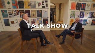 Fernando Freiberger (HSBC Brasil) conversa com Alexandre Silva (Embraer)