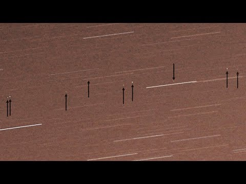 Geostationary satellites time-lapse test 2