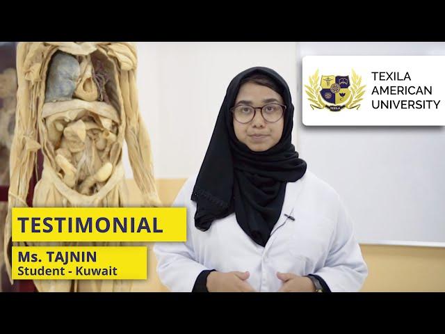 Texila American University - Student Testimonial