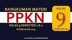 PPKN Kelas 9 SMP Kurikulum 2013 Semester 1 dan 2