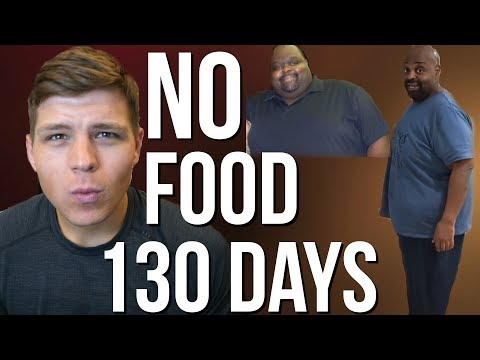 This Man Has Not Eaten for 130 DAYS To Lose Weight | 200lbs Lost…(My Thoughts)