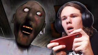 Hey Grandma... HEY GRANDMA!! | Granny Gameplay Part 1 (Iphone horror game!)