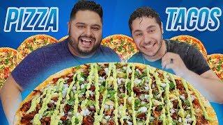 TACO PIZZA con  RAYITO | EL GUZII