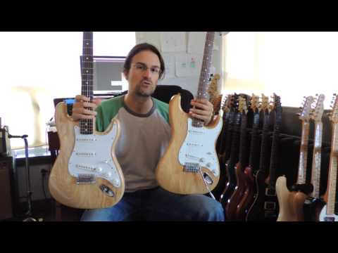 Fender Stratocaster Classic Series 70s Mexico VS Fender Vintage Series USA VS Fender 1970s