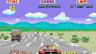 Sega Arcade Gallery (GBA) - Outrun (Ending E, Splash Wave)