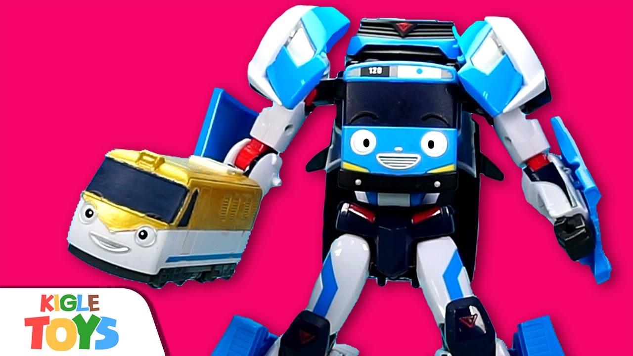 로봇 변신 기차 | 타요 장난감 띠띠뽀 버스 슈퍼히어로 지하철 | 타요 어벤져스 | KIGLE TOYS