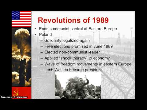 Gorbachev and the Revolutions of 1989