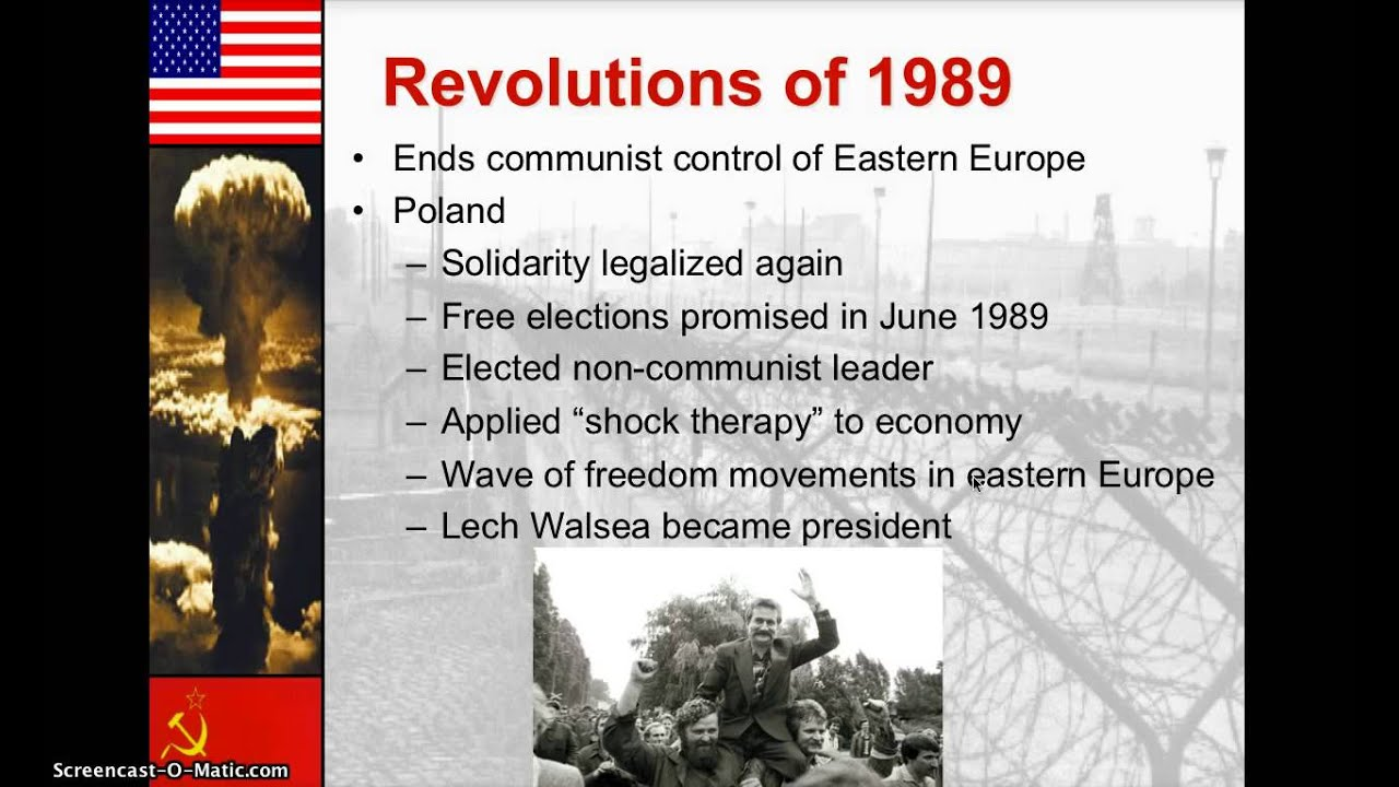1989 revolution fall of the soviet Stalin's boots are all that remain of his statue in budapest in 1989, popular revolutions exploded across central and eastern europe, bringing an end to communist rule and the cold war between the soviet union and the united states.