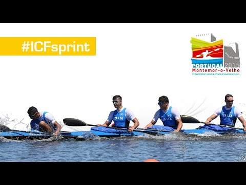 K4 Junior Men 1000m | Montemor-O-Velho 2015