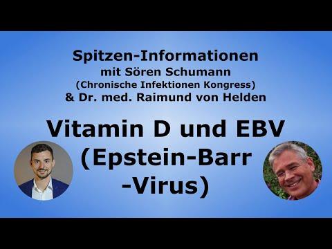 Vitamin D und Epstein-Barr-Virus / EBV + Eigene Antibiotika - Dr. med. Raimund von Helden