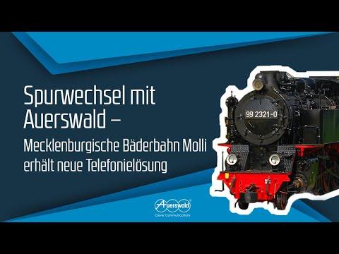 spurwechsel-mit-auerswald:-mecklenburgische-bäderbahn-molli-erhält-neue-telefonielösung