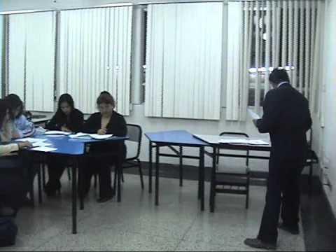 La Cantuta University Demo Class at Graduate School Lima Peru (Part 2)