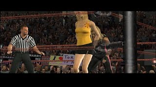 WWE Day of Reckoning 2 - Last Man Standing Match w/ Stacy Keibler
