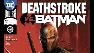Deathstroke Vs. Batman Comic Book Video