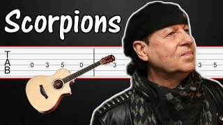 Holiday - Scorpions Guitar Tabs, Guitar Tutorial + Solo Tab