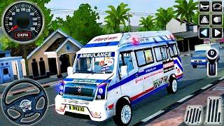 Ambulans Acil Durum Van Sürücüsü 3D - Otobüs Simülatörü Endonezya # 33 - Android GamePlay