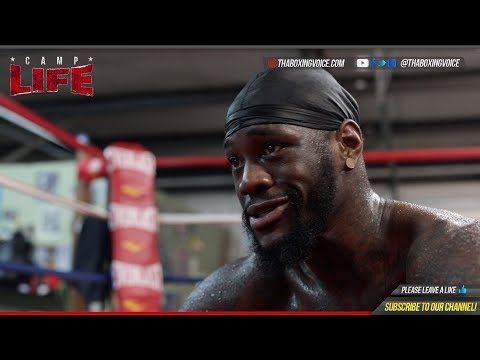 🔴Camp Life Deontay Wilder: Patreon Q/A- Luis Ortiz, Anthony Joshua Ducking, & More FULL INTERVIEW