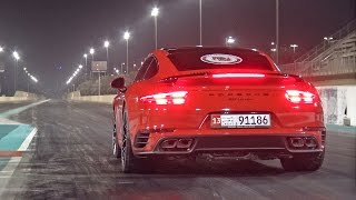 735HP Porsche 991 Turbo PP-Performance 1/4 Mile 9.92 @ 223,91 km/h