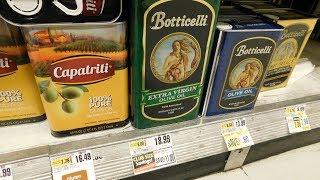 Olive oil prices, ShopRite Extra-Virgin Olive Oils, Botticelli Olive Oil