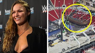 Ronda Rousey WWE Return...Wrestlemania Set Looks Incredible...The Rock Terminator...Wrestling News