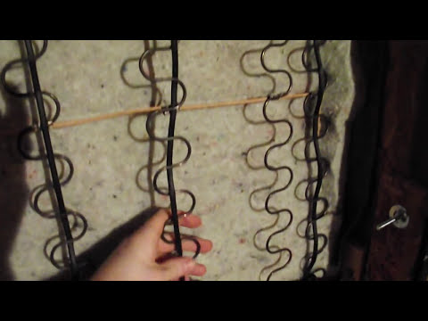 How To Fix A Sagging Sofa Bed Discount Sectional Sofas Nyc Diy Repair Furniture Springs Youtube