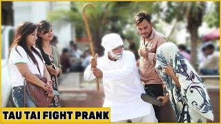 Tharki Tau Dance In Public | Funky Joker