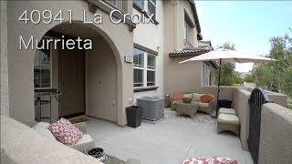 40941 La Croix, Murrieta (Townhouse)