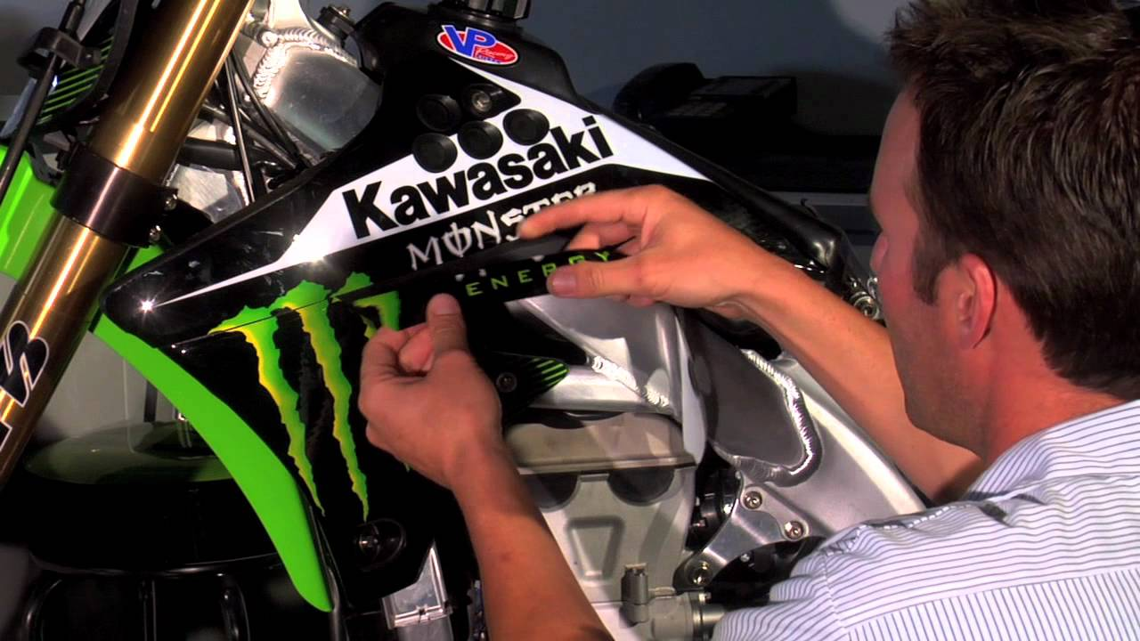 ONE Industries - How To Install Motocross Graphics - YouTube | 1280 x 720 jpeg 104kB