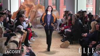 Lacoste FW17 NY collection ラコステ 検索動画 27