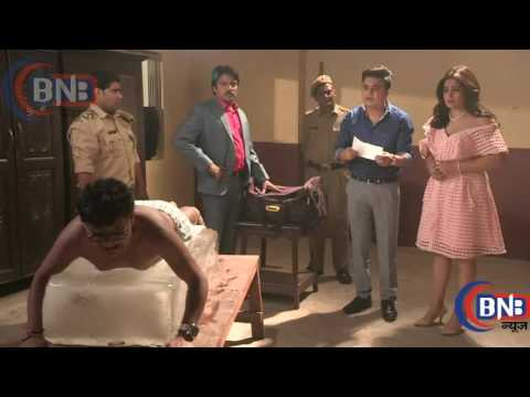 Serial May I come in Madam Sajan, Sanjana and Khilona With Police in Jail Drma Sequence thumbnail