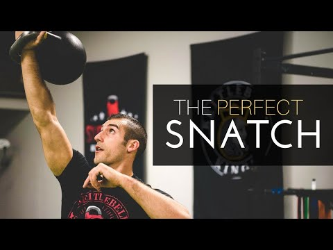 How To Do The Perfect Kettlebell Snatch | Kettlebell Lifestyle