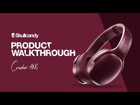 Crusher ANC Headphones   Product Walkthrough   Skullcandy