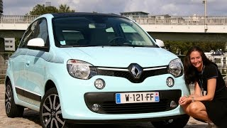 New 2014 Renault Twingo Test Drive