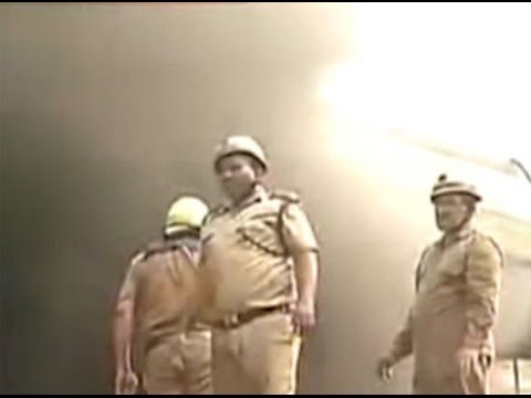 Fire at plastic factory in Delhi's Narela industrial area