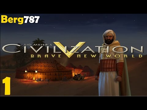 Civilization 5 | Lets Play Morocco | Deity | Piety | #1