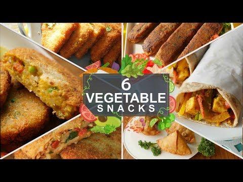 6 Vegetable Ramzan Snacks Recipes By Food Fusion (Ramzan Special Recipes)