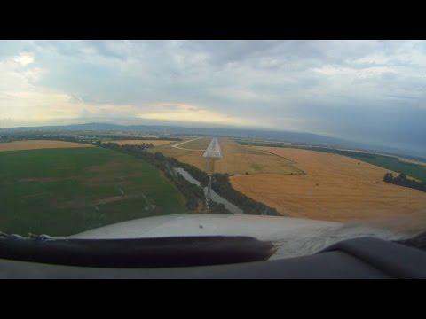 ✈Bratislava: M. R. Štefánik Airport - Landing (Cockpit View)