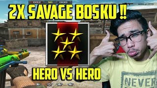PERTARUNGAN 2 HERO DI 1 ROOM !! SIAPAKAH YANG TERBAIK ?? POINT BLANK GARENA INDONESIA