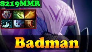 Dota 2 - Badman 8219 MMR Plays Faceless Void Vol 1 - Ranked Match Gameplay!