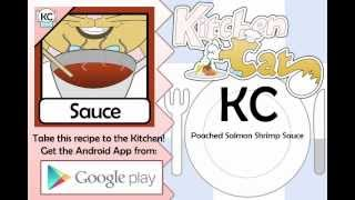 Poached Salmon Shrimp Sauce - Kitchen Cat