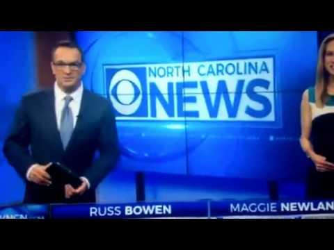 WNCN CBS North Carolina News at 4:30am open April 4, 2017