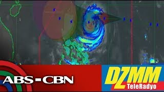 DZMM TeleRadyo: 5 areas under signal 2 as Rosita churns towards Luzon