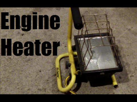 Improvised Engine Block Heater