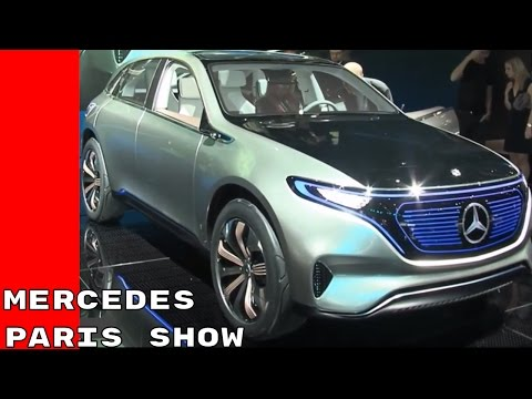 Mercedes Interviews At Paris Motor Show 2016