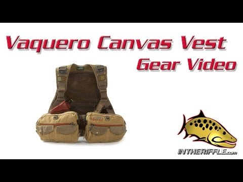 Fishpond Vaquero Waxed Canvas Fly Fishing Vest