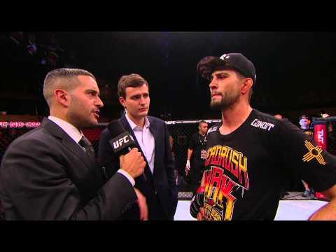 Fight Night Goiania: Carlos Condit Octagon Interview