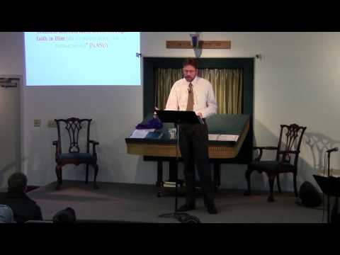 January 25, 2014 The Faithfulness of Yeshua by John McKee
