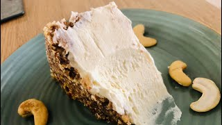 Date and Cashew Nut No-Bake Cheesecake - Episode 434 - Baking with Eda