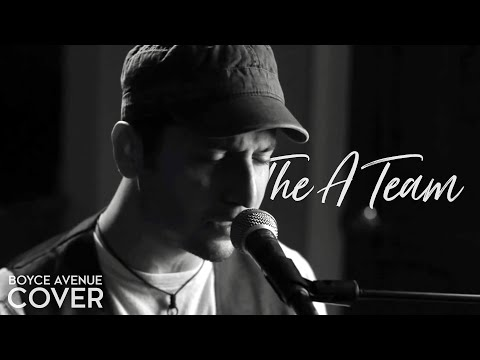 Music video Boyce Avenue - The A Team